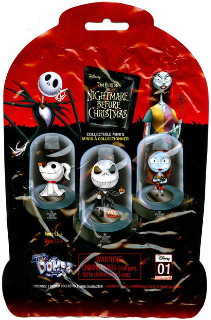 Disney Domez Series 1 Nightmare Before Christmas Mystery Pack