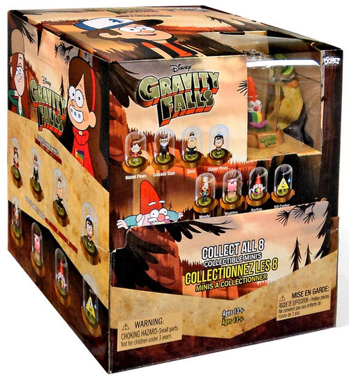 Disney Domez Series 1 Gravity Falls Mystery Box [24 Packs]