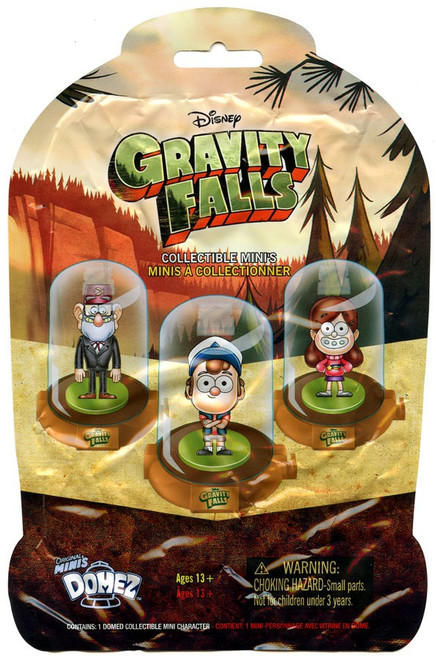 Disney Domez Series 1 Gravity Falls Mystery Pack