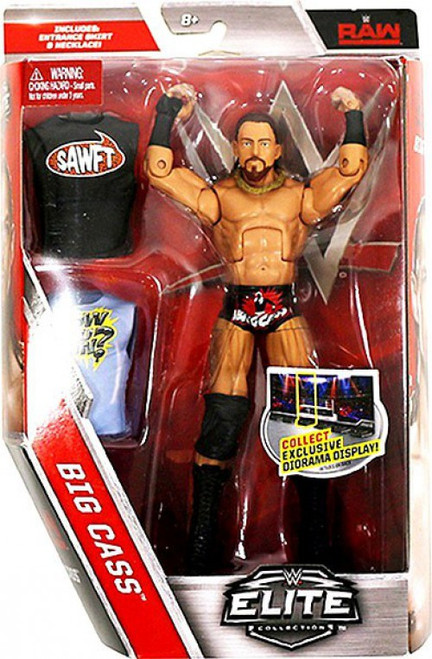 WWE Wrestling Elite Collection Series 49 Big Cass Action Figure [Entrance Shirt & Necklace]