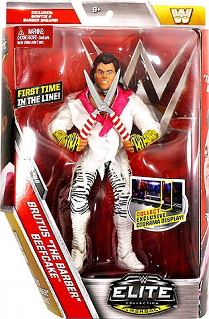 WWE Wrestling Elite Collection Series 49 Brutus Beefcake Action Figure [Bowtie & Barber Shears]
