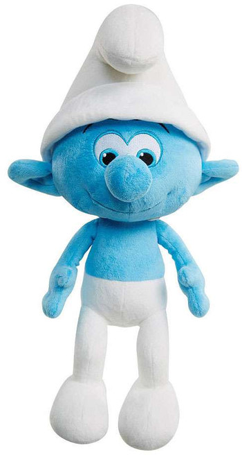 The Smurfs The Lost Village Clumsy Smurf 12-Inch Plush with Sound