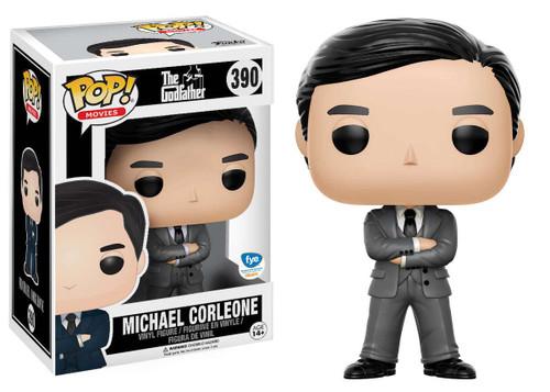 Funko The Godfather POP! Movies Michael Corleone Exclusive Vinyl Figure #390 [Grey Suit]