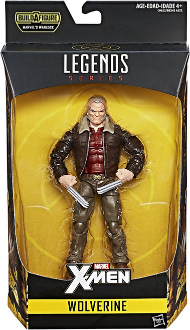 X-Men Marvel Legends Warlock Series Wolverine Action Figure [Old Man Logan]
