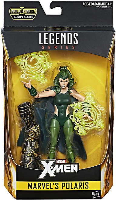 X-Men Marvel Legends Warlock Series Polaris Action Figure