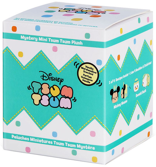 Disney Tsum Tsum Easter Exclusive 3.5-Inch Mini Plush Mystery Pack