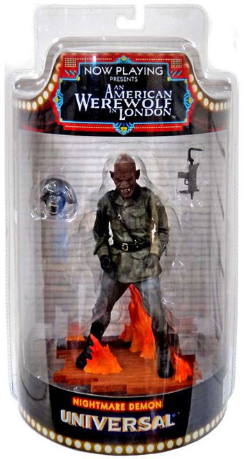 An American Werewolf in London Now Playing Series 1 Nightmare Demon Action Figure [with Gun]