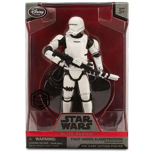 Disney Star Wars The Force Awakens Elite First Order Flametrooper Exclusive 6.5-Inch Diecast Figure [Damaged Package]