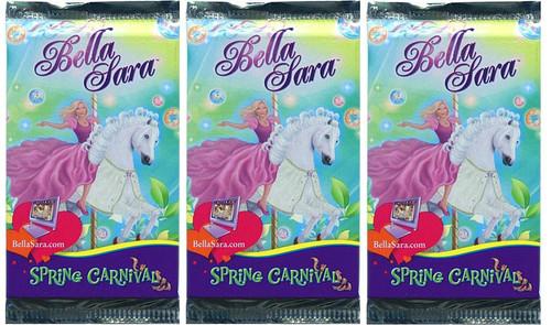 Bella Sara Spring Carnival Booster Pack [LOT OF 3]