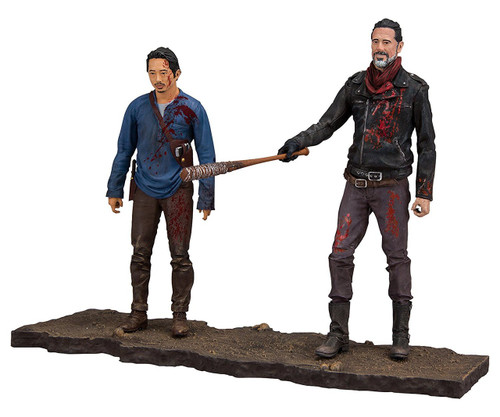 McFarlane Toys The Walking Dead AMC TV Negan & Glenn Action Figure 2-Pack [Lucille Bat!]
