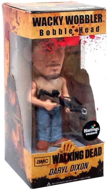 Funko The Walking Dead Wacky Wobbler Daryl Dixon Exclusive Bobble Head [Bloody]