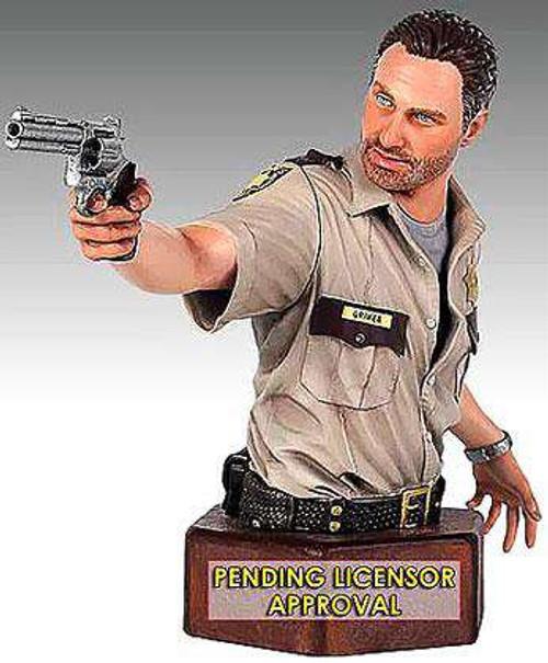 The Walking Dead AMC TV Statues & Busts Rick Grimes Mini-Bust