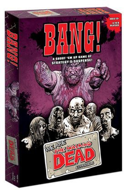 Comic We Are The Walking Dead Bang! Board Game Expansion