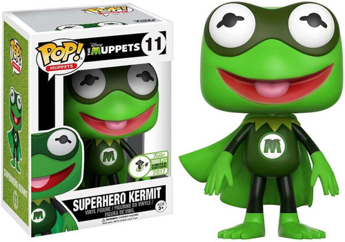 Funko The Muppets POP! TV Superhero Kermit Exclusive Vinyl Figure #11