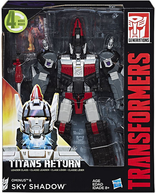Transformers Generations Titans Return Ominus & Sky Shadow Leader Action Figure
