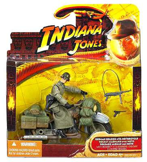 Indiana Jones German Soldier Deluxe Action Figure [Motorcycle]