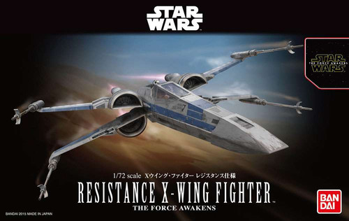 Star Wars The Force Awakens Resistance X-Wing Model Kit