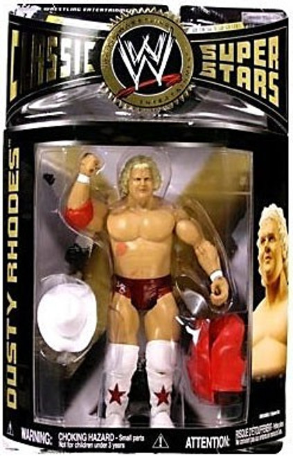 WWE Wrestling Classic Superstars Series 13 Dusty Rhodes Action Figure