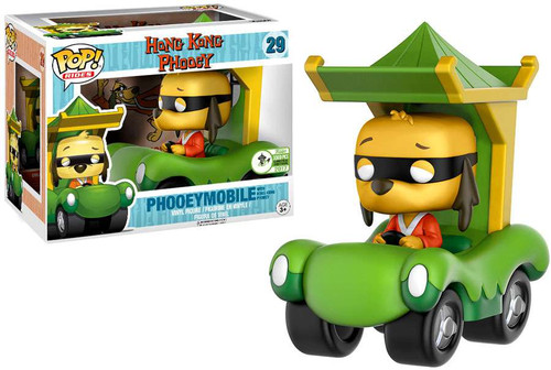 Funko Hanna-Barbera Hong Kong Phooey POP! Rides Phooeymobile Exclusive Vinyl Figure #29 [with Hong Kong Phooey]