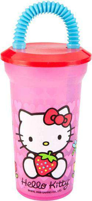Hello Kitty Fun Sip Water Bottle