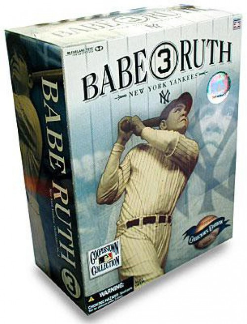 McFarlane Toys MLB New York Yankees Cooperstown Collection Babe Ruth Action Figure [Collector's Edition]