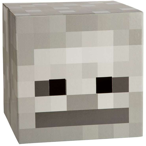 Minecraft Skeleton Cardboard Head