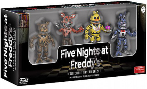 Funko Five Nights at Freddy's Nightmare 2-Inch Mini Figure 4-Pack