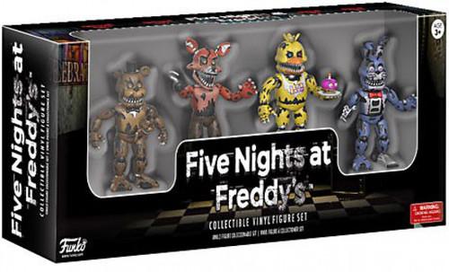 Funko Five Nights at Freddy's Nightmare 2-Inch Mini Figure 4-Pack