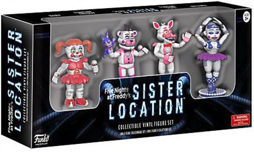 Funko Five Nights at Freddy's Sister Location 2-Inch Mini Figure 4-Pack