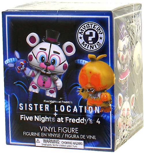 Funko Five Nights at Freddy's Mystery Minis Sister Location Mystery Pack