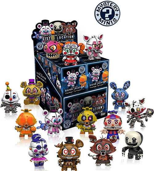 Funko Five Nights at Freddy's Mystery Minis Sister Location Mystery Box [12 Packs]
