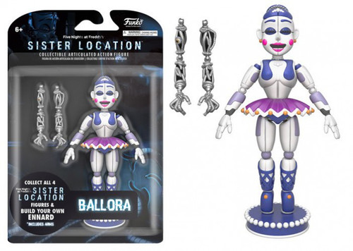 Funko Five Nights at Freddy's Sister Location Ballora Action Figure [Build Ennard Part]