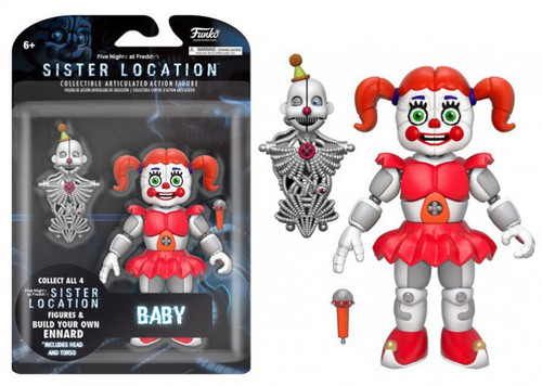 Funko Five Nights at Freddy's Sister Location Baby Action Figure [Build Ennard Part]