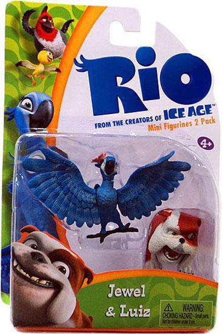 Rio Jewel & Luiz Minifigure 2-Pack