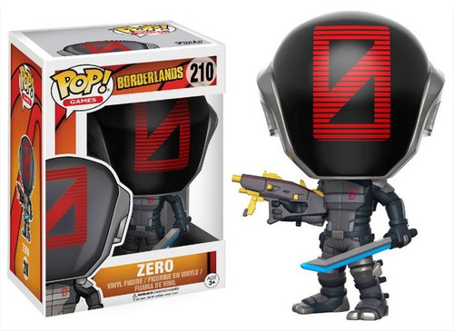 Funko Borderlands POP! Games Zero Vinyl Figure #210