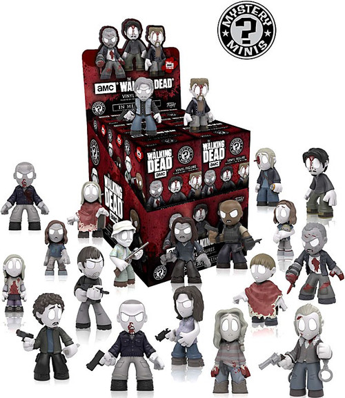 Funko The Walking Dead Mystery Minis Walking Dead Series 5 (In Memoriam) Mystery Box [12 Packs]