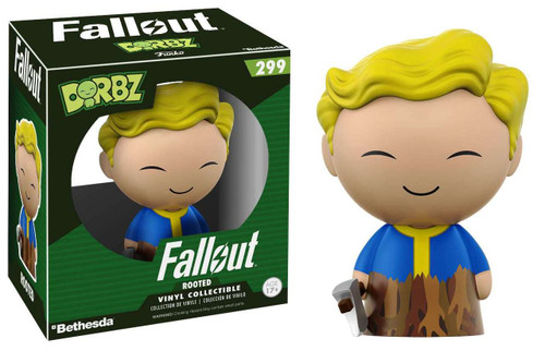 Funko Fallout Dorbz Vault Boy Vinyl Figure #299 [Rooted Regular Version]