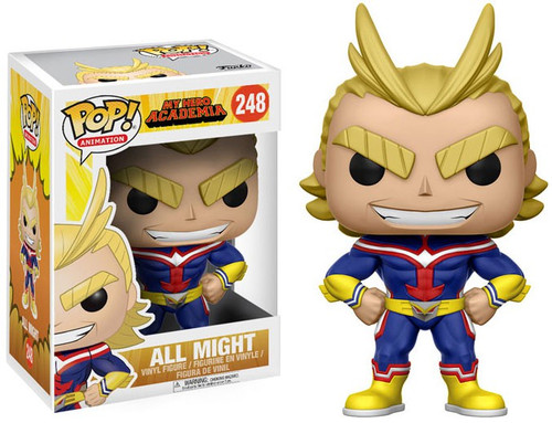 Funko My Hero Academia POP! Animation All Might Vinyl Figure #248
