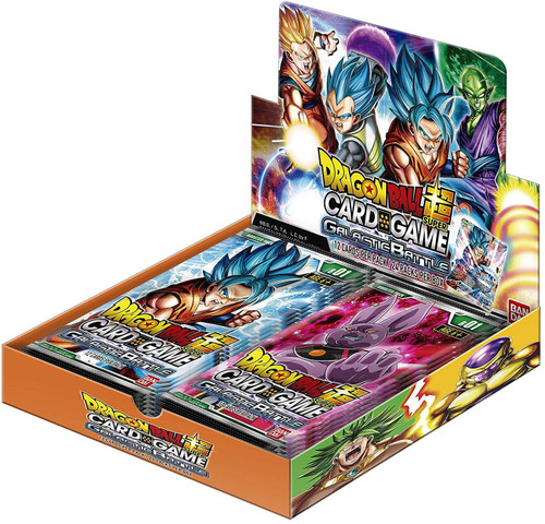 Dragon Ball Super Trading Card Game Series 1 Galactic Battle Booster Box DBS-B01 [24 Packs]