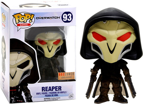 Funko Blizzard Overwatch POP! Games Reaper Exclusive Vinyl Figure #93 [Red Eyes]