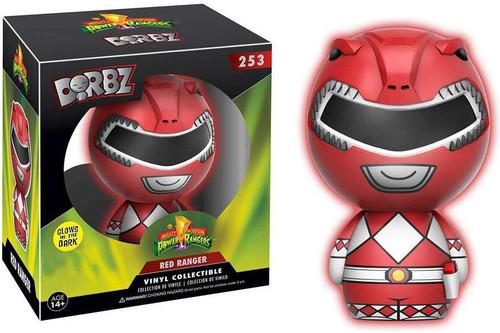 Funko Power Rangers Dorbz Red Ranger Exclusive Vinyl Figure #253 [Glow-in-the-Dark]