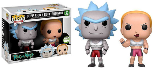 Funko Rick & Morty POP! Animation Buff Rick & Buff Summer Exclusive Vinyl Figure