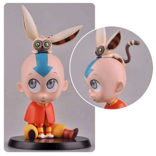 Avatar the Last Airbender Legend of Korra Chibified Characters Aang 5-Inch PVC Statue