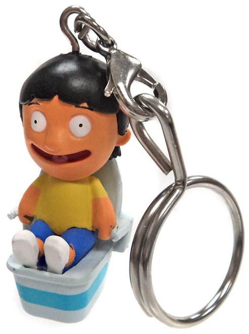 Bob's Burgers Keychain Gene Belcher on Toilet 2/24 Loose Figure