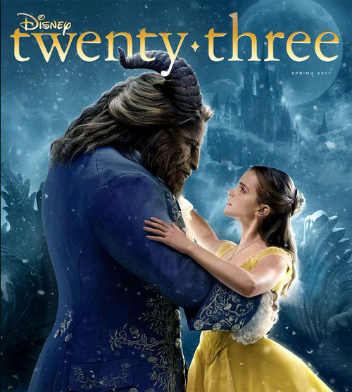Disney Twenty Three Magazine [Beauty and the Beast]