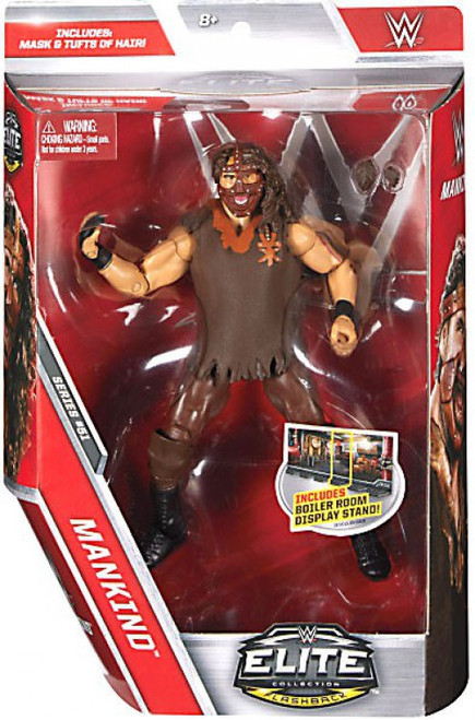 WWE Wrestling Elite Collection Series 51 Mankind Action Figure [Mask & Tufts of Hair]