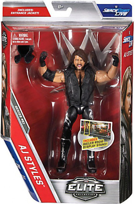 WWE Wrestling Elite Collection Series 51 AJ Styles Action Figure [Entrance Jacket]