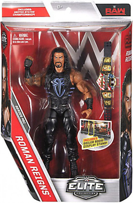 WWE Wrestling Elite Collection Series 51 Roman Reigns Action Figure [United States Championship Belt]