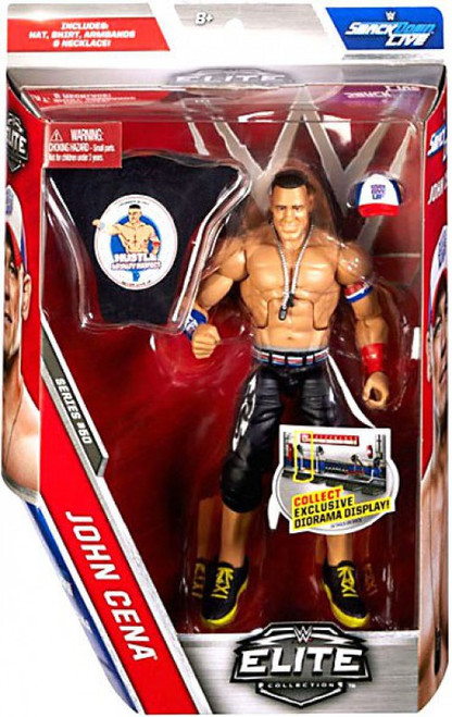 WWE Wrestling Elite Collection Series 50 John Cena Action Figure [Hat, Shirt, Armbands & Necklace]