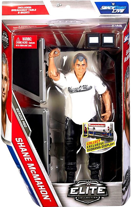 WWE Wrestling Elite Collection Series 50 Shane McMahon Action Figure [Breakaway Table & Chair]